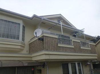 東京都練馬区の施工事例(遮熱シリコン)
