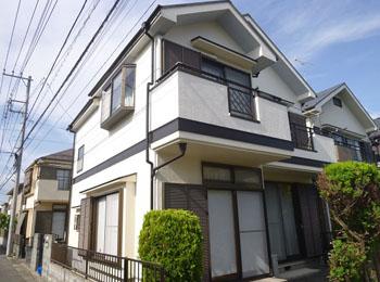 東京都小平市の施工事例(遮熱シリコン)