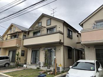 東京都日野市の施工事例(遮熱シリコン)