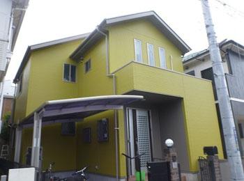 東京都東久留米市の施工事例(遮熱シリコン)