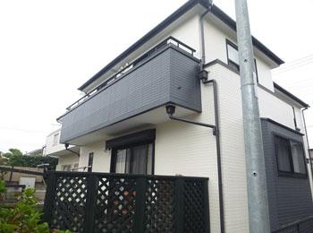 東京都杉並区の施工事例(遮熱シリコン)