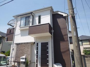 東京都小金井市の施工事例(遮熱シリコン)