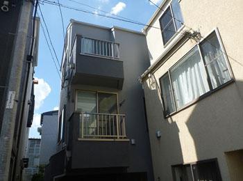 東京都品川区の施工事例(遮熱シリコン)