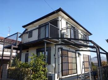 東京都清瀬市の施工事例(無機セラミック)