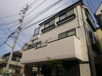 東京都国立市の施工事例(無機)